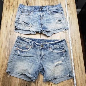 American eagle girls shorts size 4